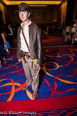 Indiana Jones Cosplayer at 2016 TerrifiCon, Uncasville Ct (Wil Elliott Images) Tags: mohigansun lightroom6 tamron16300mmf3563 cosplay comiccon geekculture wilelliottimages 2016 nikond7200 indianajones terrificon
