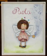 Quadrinho Paola (Kika 2002) Tags: quadrinho baby kids beb criana fada fadinha fairy porta maternidade
