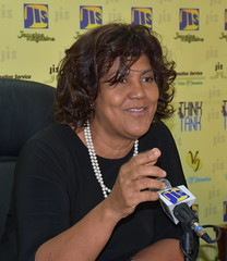 Executive Director at the Jamaica Intellectual Property Office (JIPO), Lillyclaire Bellamy