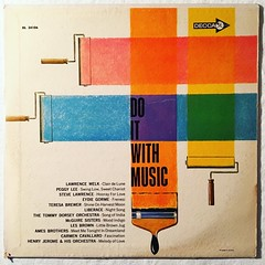 Do It With Music - 1960s Vintage Vinyl LP Record (Christian Montone) Tags: vinyl records vintage 1960s vintagevinyl albums albumcovers lp lps