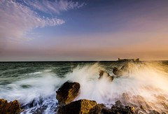 korykos's waves............... (Ozlem Acaroglu(www.ozlemacaroglu.com)) Tags: korykos kzkalesi erdemli silifke leehardfilter leefilter mersin