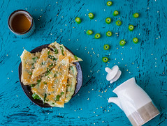 spring onion pancakes (lei_auckland) Tags: springonionpancakes pancakes chinesepancakes chinese breakfast springonion