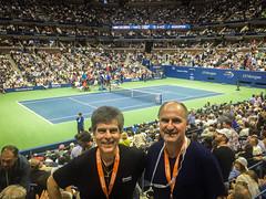 US-Open-2016-51 (fabergtourexperience) Tags: usopen tennis new york usa arthur ashe stadium stanislaswawrinka stan wawrinka novakdjokovic djokovic experience sporting events sunset sunny day