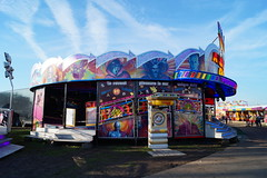 DSC02201 (A Parton Photography) Tags: fairground rides spinning longexposure miltonkeynes fireworks bonfire november cold
