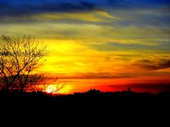 New York Sunset (dimaruss34) Tags: newyork brooklyn dmitriyfomenko image sunset sky