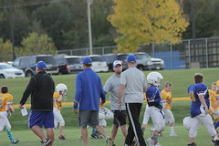 1479 (bubbaonthenet) Tags: 09292016 game stma community 4th grade youth football team 2 5 education tackle 4 blue vs 3 gold