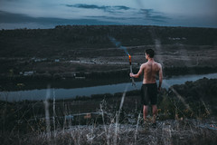 Missing (Vadim.Cojuhov) Tags: man portrait nateure lost canon 6d sigma 35mm art series done well one alone fire mountains textures aperture face eyes look see friend forward only like incredible found shadows hightlights moment tattoo boy scene nude moldova torch flambeau cresset camera film composition portfolio stock spirit soul vista fate fortune cup chance work north people