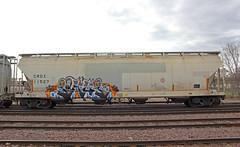 Payup (The Braindead) Tags: street art minnesota train bench photography graffiti interesting paint flickr painted tracks minneapolis twin rail explore most beyond the braindead cites flickrs thebraindead