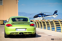 Drive Or Fly (Raphal Belly) Tags: verde green car french photography eos riviera photographie photoshoot metallic vert montecarlo monaco mc belly exotic r porsche 7d passion cayman carlo monte raphael fontvieille rb supercar spotting supercars peridot raphal hliport pridot