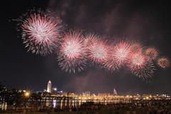 IMG_56_57 (vicjuan) Tags: bridge river geotagged taiwan firework taipei datong     sanchong     danshueiriver  newtaipei geo:lat=25056834 geo:lon=121504562  20120818