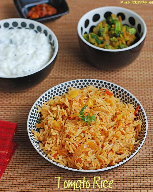 Tomato-rice-thakkali-sadam-recipe