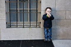 St. Patrick's Day Parade 2011--NYC (Bravo213) Tags: nyc newyorkcity boy hotdog child eating manhattan cy twothumbsup bigmomma cy2 thumbwrestler challengeyouwinner 3waychallenge 15challengeswinner friendlychallenges thechallengefactory fotocompetition fotocompetitionbronze ultimategrindwinner herowinner ultraherowinner pregamewinner