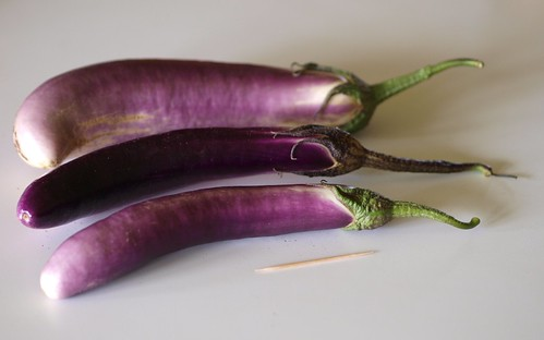 PINGTUNG LONG EGGPLANT by F. D. Richards, on Flickr