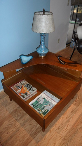 Brown Saltman (CA) Side Table