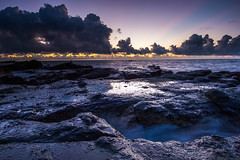 () Tags: morning light sea sky sunlight color beach clouds sunrise landscape nikon natural  taiwan                 nikond4