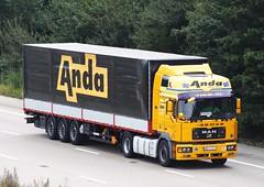 MAN Roadhaus WRA 25L9 (gylesnikki) Tags: yellow truck anda artic roadhaus