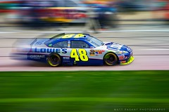 Jimmie Johnson - Sprint Cup Champion - Lowes Racing (Matt Pasant) Tags: blue usa chevrolet sports yellow race racecar canon champion racing chevy nascar panning lowes texasmotorspeedway 5x jimmiejohnson hendrickmotorsports kobalt sprintcup canonef70200mmf28lis2x rearendbushings