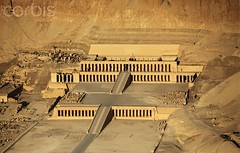 Temple of Queen Hatshepsut (kashkool1) Tags: africa travel cliff holiday building history architecture outdoors temple freedom ancient asia mediterranean tomb egypt middleeast diversity aerialview nobody landmark arab egyptian tradition luxor thebes morgue funeralhome viewfromabove chambertomb northernafrica deirelbahri templeofhatshepsut ancientegyptian ancientcultures mortuarytemple africanculture northafricanculture rockcuttomb qinagovernorate middleeasternculture egyptiannewkingdom egyptianeighteenthdynasty