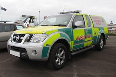 [NEW] NIAS / Nissan Navara / Emergency Equipment Vehicle (Nick 999) Tags: blue ireland light bar lights nissan pickup ambulance led equipment airshow international vehicle leds service emergency northern 2012 portrush sirens nias navara eev northernirelandambulanceservice