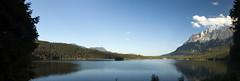 Panorama of Eibsee and Zugspitze (Elmar Bajora Photography) Tags: mountain lake mountains water landscape see wasser outdoor peak berge gorge alpen garmisch garmischpartenkirchen eibsee gebirge massif zugspitze gapa eibseelake