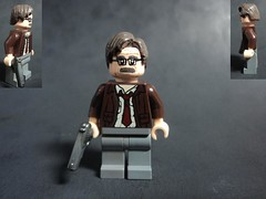 Commissioner Gordon (billbobful) Tags: dark lego jim gordon batman knight begins rises commissioner gordan lieutenant