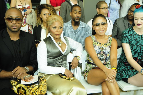 Lil kim Front Row at Mercedes Benz Fashi by MoniqueTatum, on Flickr