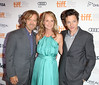 William H. Macy, Helen Hunt and John Hawkes 2012 Toronto International Film Festival Toronto, Canada