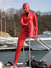 Wetsuited beauty [RED]014 (mixnuts club) Tags: fetish bondage rubber spy diver wetsuits secretagent frogwoman