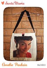 Bolsa Carteiro Amelie Poulain - Ref 0013 (Santa Maria Produes | arte prpria.) Tags: ameliepoulain bolsas santamariabolsas