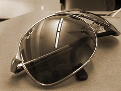 Aviators (chriswilliamboyd) Tags: sunglasses aviator rayban pilotshades pilotsunglasses glassesrayban