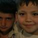 Estes, eram vendedores no mercado de Aleppo