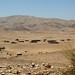 Acampamentos nômades no meio do deserto
