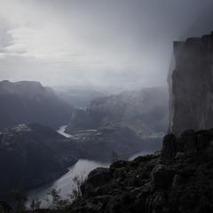 Preikestolen (koeb) Tags: norway rock stavanger fjord pulpit preikestolen rogaland ryfylke norwgen