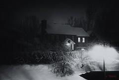 Nuit d'hiver (Yasur.sur.Flickr) Tags: winter bw night noiretblanc hiver nocturne