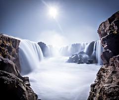 Hrafnabjargarfossar (oskarpall) Tags: nature water waterfall iceland foss sland nttra vatn fossar