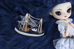Sail the ocean of my hair (Valrie Busymum) Tags: doll dal angry groove pullip prunella rewigged rechipped busymum