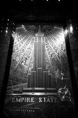 New York - Empire state building entrance hall