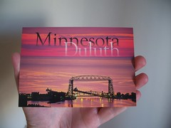 (mestes76) Tags: minnesota hands bridges buddy postcards duluth aerialliftbridge 102111