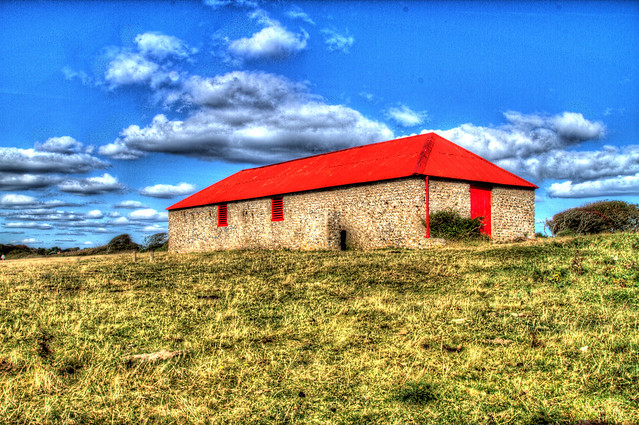 Barn with Red Roof, Crowlink