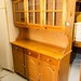 Natural pine cabinet