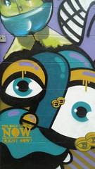 Graffito a Torino (particolare) (Leonaso) Tags: streetart torino colore spray occhi graffito flickrandroidapp:filter=none