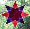 Red And Purple Star