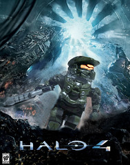 Halo 4 - Cover Art in LEGO (MGF Customs/Reviews) Tags: art lego infinity chief 4 halo master cover requiem cortana unsc promethean