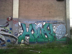 Herl, Ape (Blazing Trails) Tags: graffiti losangeles force crew fesh herl indacut
