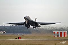 Rockwell B-1B Lancer 86-0099 (BenSMontgomery) Tags: force air south wing bone rockwell boeing bomb ellsworth usaf dakota base lancer raf 28th squadron 37th mildenhall b1b 860099