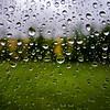 Cubismo Esférico (Walimai.photo) Tags: macro verde green window grass rain ventana lumix lluvia focus drop panasonic gota foco hierba lx5 thechallengefactory