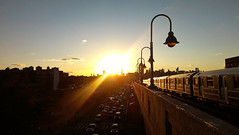 Autumn Sunset on Queens Boulevard - Sunnyside, Queens (ChrisGoldNY) Tags: city nyc newyorkcity sunset urban newyork subway day forsale clear queens transportation posters gothamist lamps sunnyside curbed bookcovers 7train subways albumcovers qns queensboulevard queensblvd thechallengefactory chrisgoldny chrisgoldberg chrisgoldphoto chrisgoldphotos