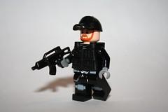 Chuck Norris (SpontaneousRaptor) Tags: lego chuck norris chucknorris g36c expendables brickarms brickarmsmods