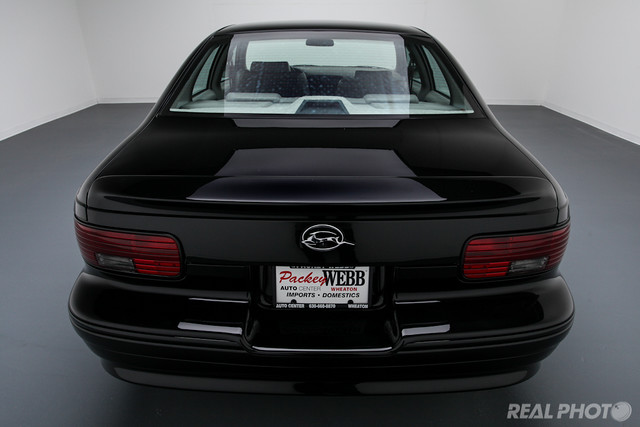 "1996 chevy impala ss black car auto studio vehicle photography photo chicago illinois lombard lisle automobile elmhurst dupage ""real services"" dealerships dealers remarketing automotive"