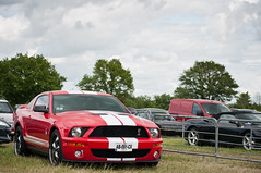 Ford Mustang Shelby GT500 (BenjiAuto (Ratet B. Photographie)) Tags: show road red usa france cars ford sport race america spider us italian nikon italia muscle snake stripes meeting gear 360 ferrari american shelby autos mustang lamborghini luxury supercar striped maserati vienne supercars paddock pitlane 18105 pagani gt500 55200 paddocks gt350 d90 vigeant ratet worldcars hypercars classiche sportcollection